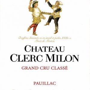Etiquette_Clerc_Milon_page_les_millesimes