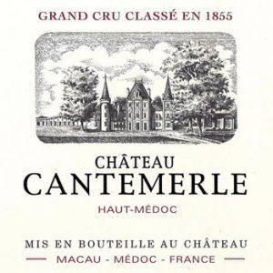 chateau-cantemerle-haut-medoc-2010-etiquette